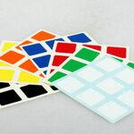 Rubik sticker สติ๊กเกอร์รูบิค 3x3x3